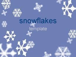 snow powerpoint template frozen snowflake powerpoint template