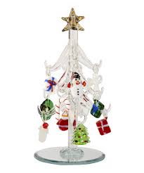 take a look at this whimsical ornament miniature glass tree set by