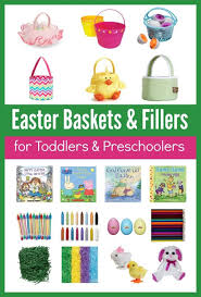 easter basket fillers for toddlers inexpensive easter baskets for toddlers