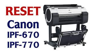 release ink level detection on canon ipf 670 and ipf 770 youtube