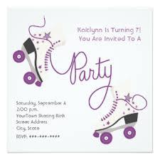 roller skating birthday party invitation dolanpedia invitations