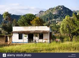 Smallhouse by Small House Shop Beside The Road At Dedza Malawi Africa Stock