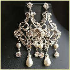 and pearl chandelier gold and pearl chandelier earrings home design ideas