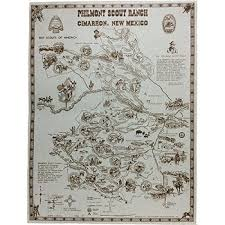 philmont scout ranch map philmont souvenir map
