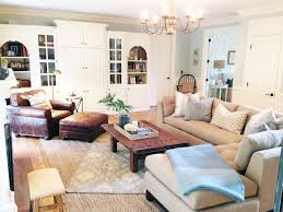 Before And After A Light And Lovely Family Room Makeover - Pottery barn family room