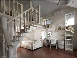 easy mezzanine bedroom design with additional interior design