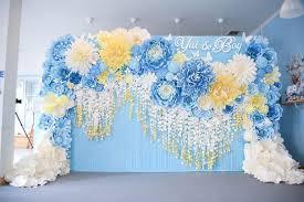 wedding backdrop paper flowers pin by mohika reddy on decor backdrops paper flower