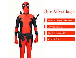 Halloween Costumes Deadpool Newest Deadpool Spandex Deadpool Costume
