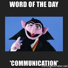 Meme Word Generator - word of the day communication the count from sesame street