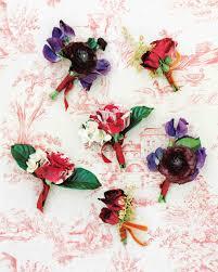 Boutineer Flowers 48 Boutonnieres You Both Will Love Martha Stewart Weddings