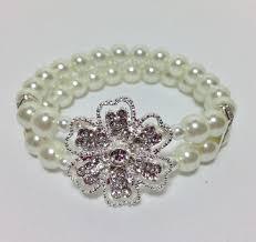 bride necklace images Bridal wedding jewelry necklace set bride pearl necklace bracelet jpg