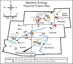 Map Of Colorado And Utah by Uranium Watch Industry Resources