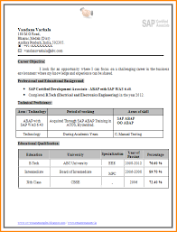 Fresher Resume Sample by 6 Fresher Resume Sample Download Invoice Template Download