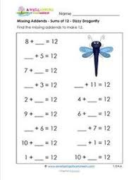Kumon 1st Grade Worksheets Free Kumon Maths Worksheets Fractions
