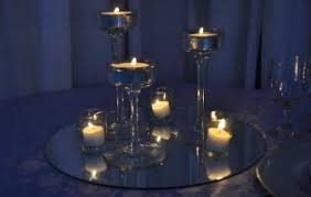 Vases With Floating Candles Centerpiecerentals