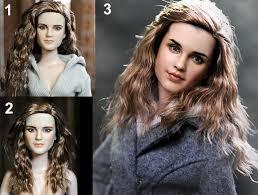 emma watson looks like emma watson as hermione granger custom doll by noeling on deviantart