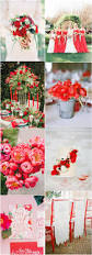 fiesta red wedding color ideas fall winter wedding ideas deer