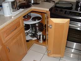 alluring corner kitchen cabinet storage solutions