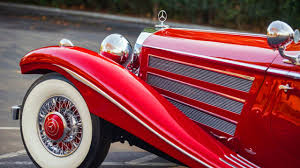 mercedes benz 540k special roadster w29 sells for record 9 9