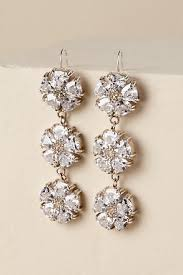 wedding earrings drop wedding dress bridal jewelry bhldn