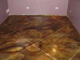Staining Concrete Basement Floor Diy Stained Concrete Basement Floor U2014 New Basement And Tile