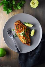 grilled blackened catfish with cilantro lime butter recipe