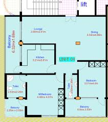 residential floor plan nasra estate company limited