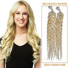 micro rings hair extensions 28 inch 613 curly micro loop hair extensions 100