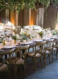 Outdoor Wedding Furniture Rental by A Wedding Style Trend We U0027re Loving Right Now Cross Back Chairs