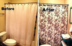 Country Shower Curtains For The Bathroom Bathrooms With Shower Curtains Small Bathroom Makeovers Shower