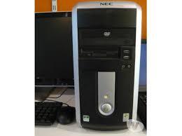 ordinateur nec bureau ordinateur de bureau nec 2 duo tayara