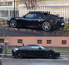 tesla roadster 2019 saw two of these in one day tesla roadster sport both black