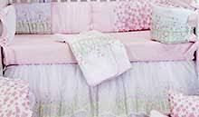 luxury baby crib bedding elegant nursery decor