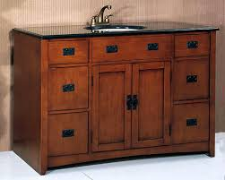 craftsman style bathroom ideas mission style bathroom vanity vanities in craftsman plan 13