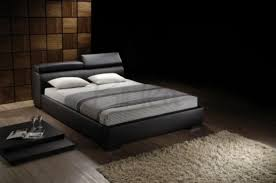 birlea signature 4ft6 double brown faux leather bed frame by birlea