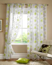 Shabby Chic Voile Curtains by Lombok Rod Pocket Voile Lime Cheap Green Curtain Voile Uk