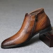 Comfortable Cowboy Boots 39 48 Brand Men Boots Z6 Top Quality Handsome Comfortable Retro