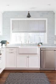 blue backsplash home design ideas