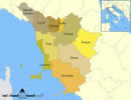 provinces of italy map map of tuscany probably the best map resources available on tuscany