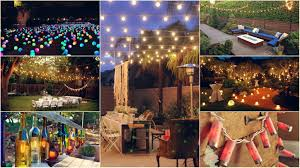 outside party lights ideas 10 diy outdoor party lighting ideas diy smartly