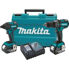 makita 18 volt lxt lithium ion brushless cordless hammer drill and