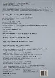 basic microbiology techniques amazon co uk susan g m d ph d