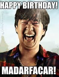 Happy Birthday Funny Meme - joke4fun memes happy birthday