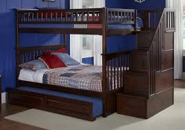 Adorable Full Over Full Bunk Beds With Stairs With Jefferson Full - Full over full bunk bed with trundle