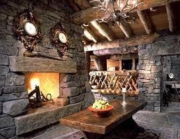 rustic stone fireplaces rustic stone fireplace design interior design pinterest stone