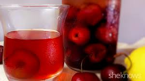 atomic cherries and cherry moonshine for your midsummer tipsy