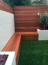 simple modern court yard garden designer battersea fulham chelsea