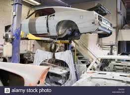 mustang auto shop auto shop mustang rebuild stock photo royalty free image