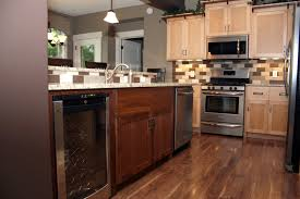 Kitchen Floor Tile Ideas With Oak Cabinets Pics Of Bathrooms With Dark Wood Floors And Cabinets Precious Home
