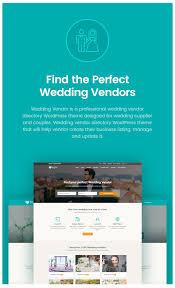 wedding vendor websites vendor directory theme wedding vendor by udayraj